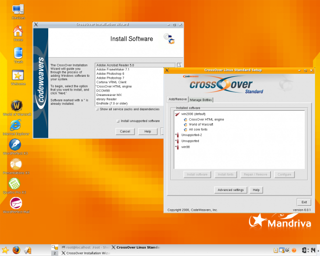 Programa para instalar aplicaciones de Windows en Linux