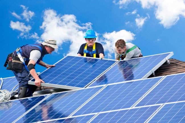 Cómo instalar yo solo paneles solares