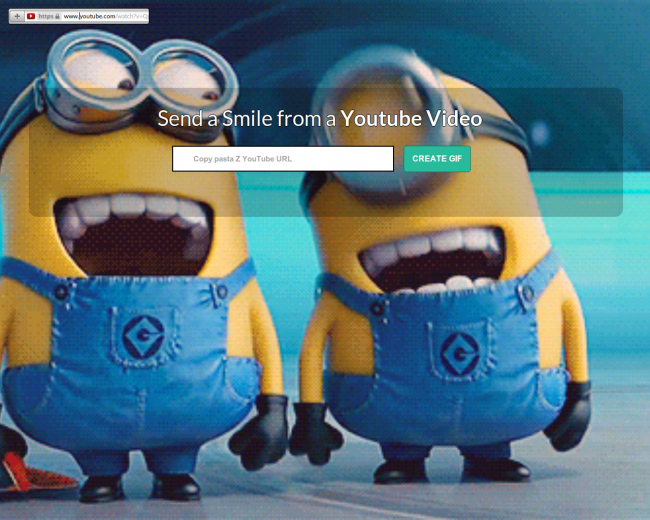 Tutorial para crear imágenes GIF a partir de videos de YouTube