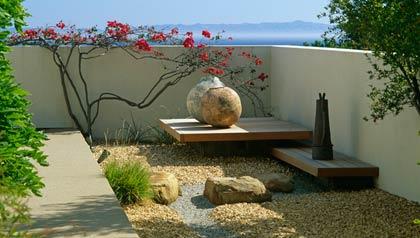 C mo instalar jardines zen relajantes en patios interiores - Pequenos jardines zen ...