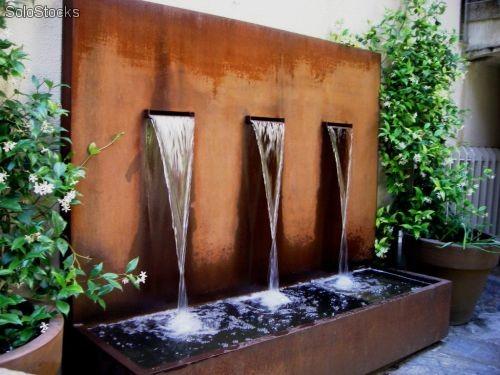 Instalar fuentes de agua c mo cuando y d nde - Fuentes para jardin exterior ...