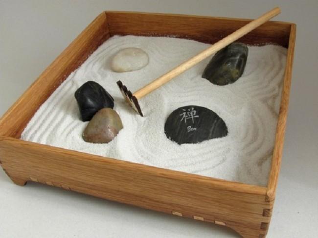 c mo instalar un jard n tipo zen miniatura. Black Bedroom Furniture Sets. Home Design Ideas