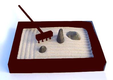 C mo instalar un jard n tipo zen miniatura - Que es un jardin zen ...