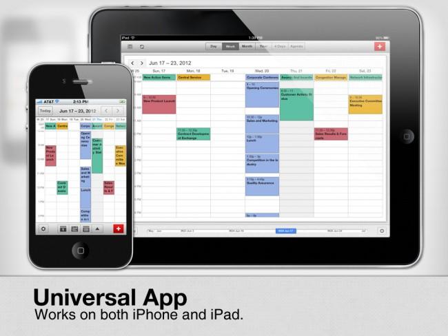 App de calendario Google Calendar para iPhone