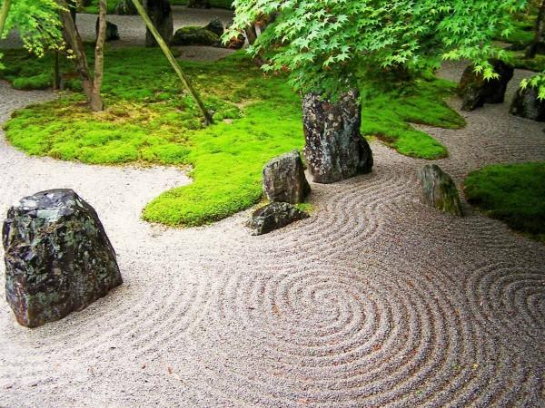 consejo en el cuidado de jardines zen