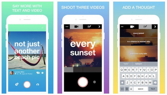 Hykoo, para crear videos con texto desde tu iPhone
