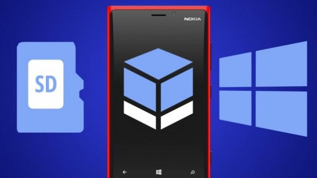 Como pasar apps a a la tarjeta SD en Windows Phone 8.1