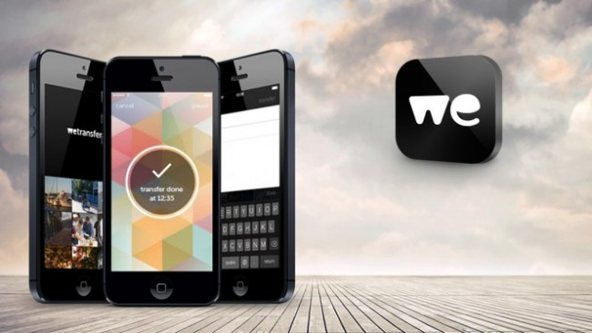 WeTransfer, para compartir fotos y videos con tu iPhone