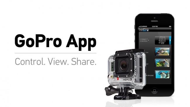 App oficial de GoPro para iPhone