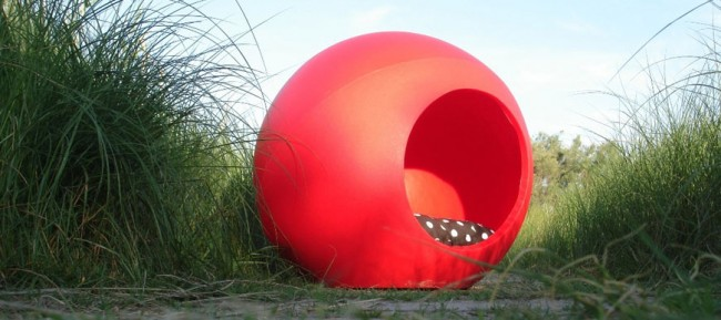 cuchasslide-caseta-perro-bubble-roja