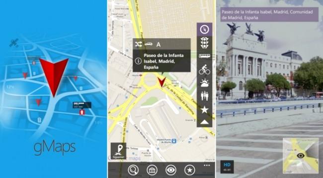 Cómo instalar gMaps: Mapas online de Google, gratis para Nokia Lumia