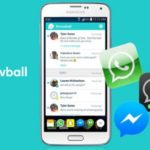 Todos tus mensajes son recibidos por Snowball para Android