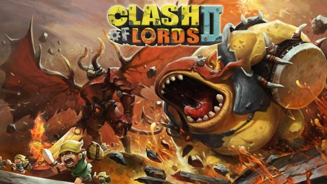 Juego de estrategia en tiempo real Clash of Lords II para Android