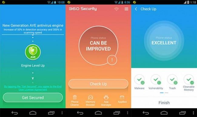 Instalar antivirus 360 Security para Android