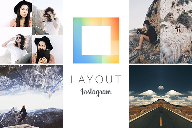 Crear divertidos collages con Layout from Instagram para iOS