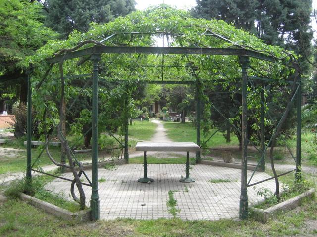 C mo instalar una p rgola y d nde - Pergolas de lona para jardin ...