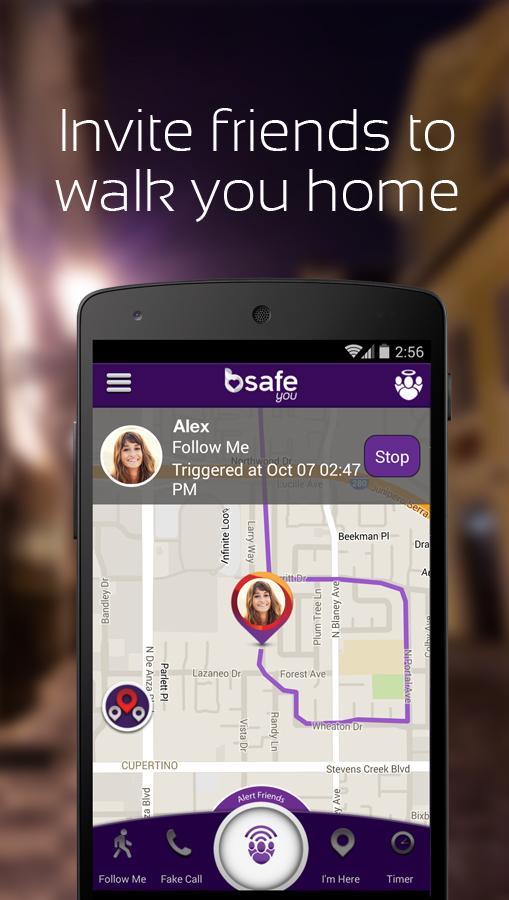 BSafe You para Android: red de amigos para mayor seguridad