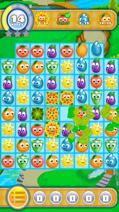 Divertido puzzle Farm Friends Story para BlackBerry