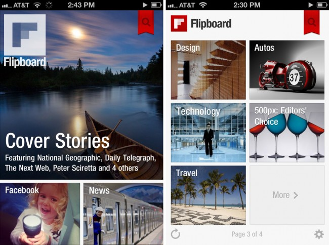 Todas las noticias en tu smartphone Windows Phone con Flipboard