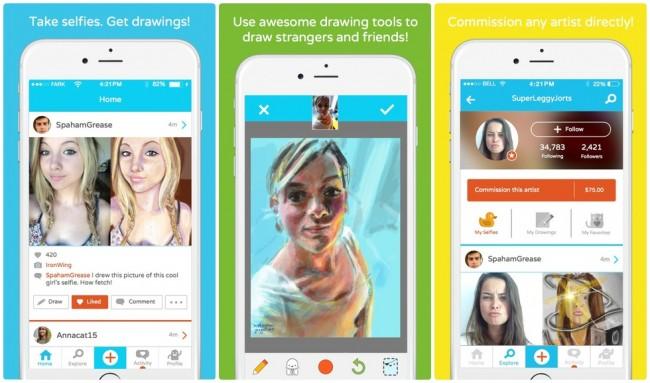French Girls, aplicación de fotografía ideal para tomar selfies
