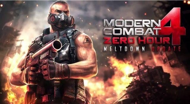 Juego en primera persona Modern Combat 4 para Nokia Lumia