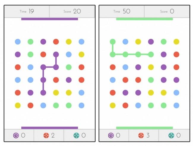 Nueva versión del exitoso y divertido videojuego Dots para Android