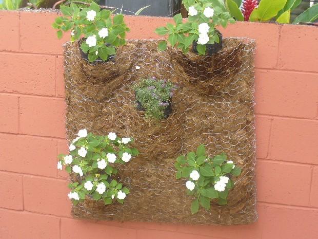 C mo instalar un jard n vertical de sustrato en casa for Como construir un jardin vertical paso a paso