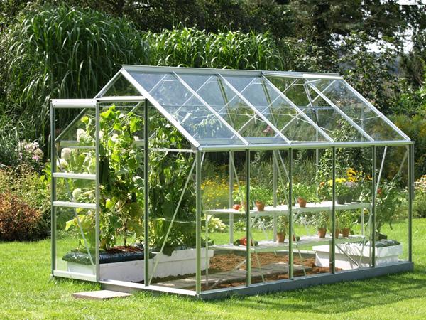 como construir un invernadero en casa
