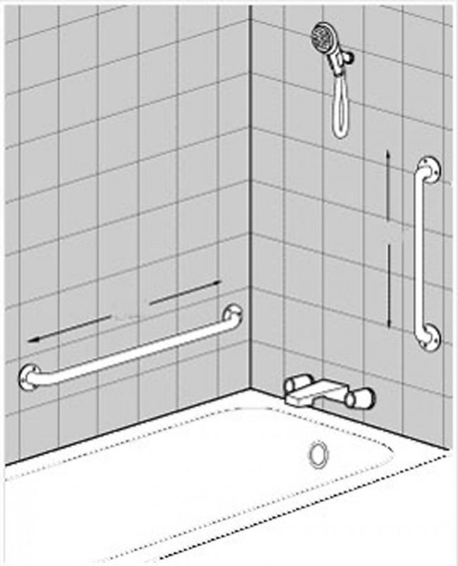 C Mo Instalar En El Ba O Barras De Seguridad Para