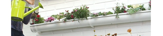 C mo instalar un jard n vertical con canaletas de pvc for Como construir un jardin vertical paso a paso