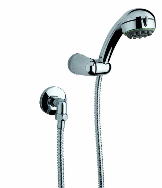 C mo instalar una ducha de mano y barra en 10 pasos for Como reparar una llave de ducha