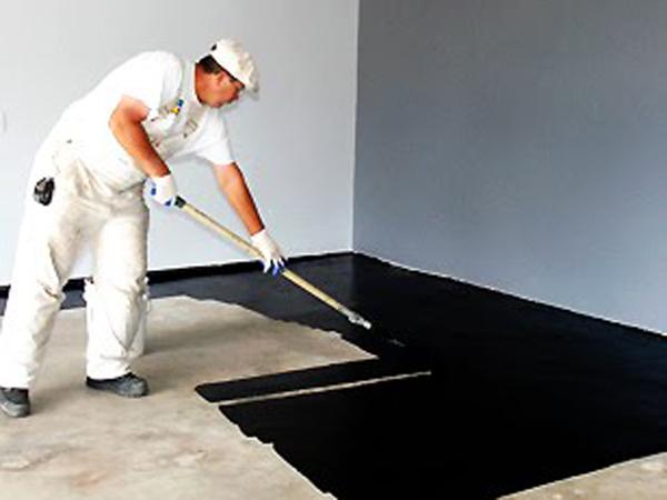 Como pintar el piso de un garaje - Como pintar un piso pequeno ...