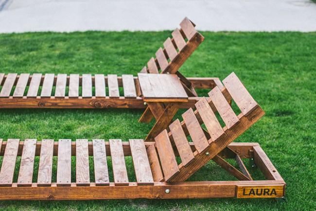 Ideas para reciclar palets de madera y hacer bonitos - Cosas hechas con palets ...