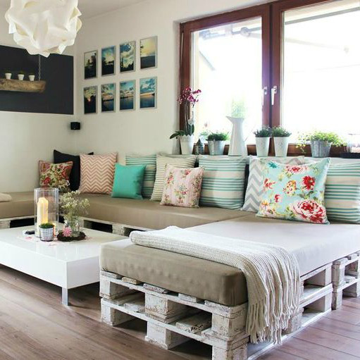 Ideas para reciclar palets de madera y hacer bonitos - Reciclar palets para muebles ...