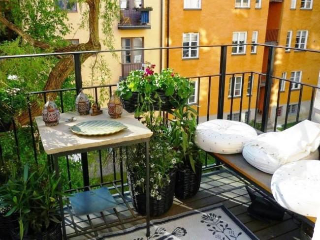 Algunos consejos e ideas para armar un jardín en tu balcón