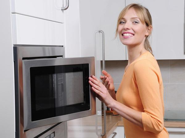 Donde instalar un microondas en tu cocina