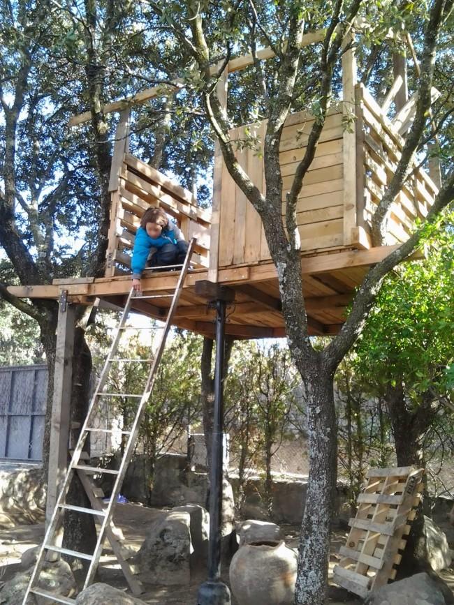 Cómo instalar una casa en un árbol