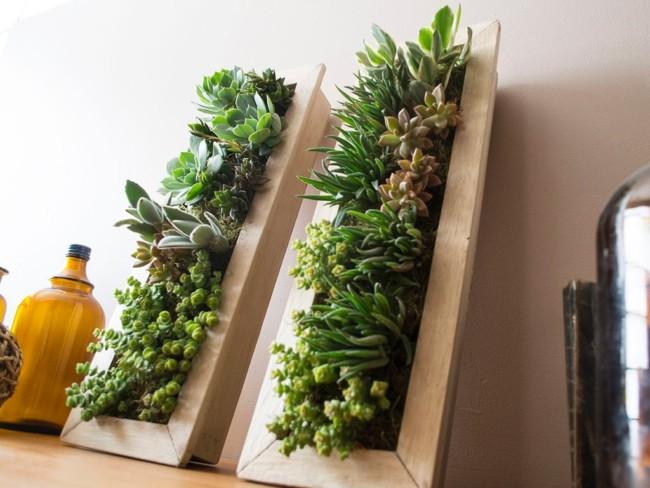C mo instalar un jard n vertical peque o en la terraza for Como iluminar un jardin pequeno