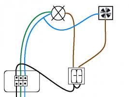 C mo instalar en un ba o un extractor ideas - Instalar extractor bano ...