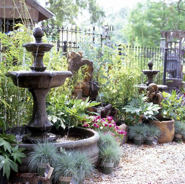 Instalar una fuente de agua decorativa en el jardin modelos - Fuente para jardin ...