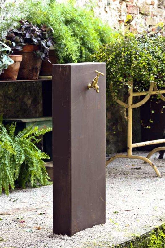 Instalar una fuente de agua decorativa en el jardin - Modelos de fuentes para jardin ...