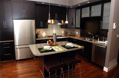 Como decorar cocinas modernas 166 im genes - Islas cocina pequenas ...
