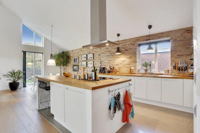 Como decorar cocinas modernas 166 im genes - Iluminacion para cocinas modernas ...