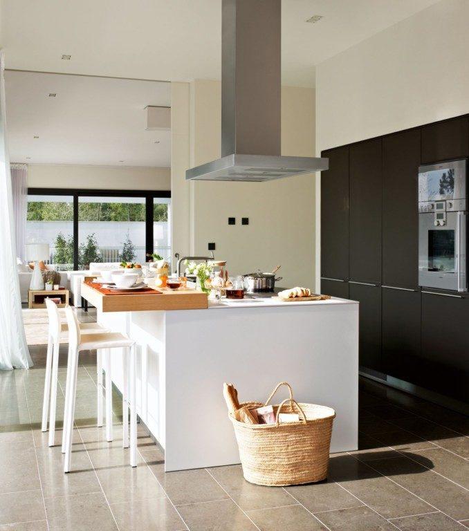 Como decorar cocinas modernas 166 im genes for Cocinas modernas blancas