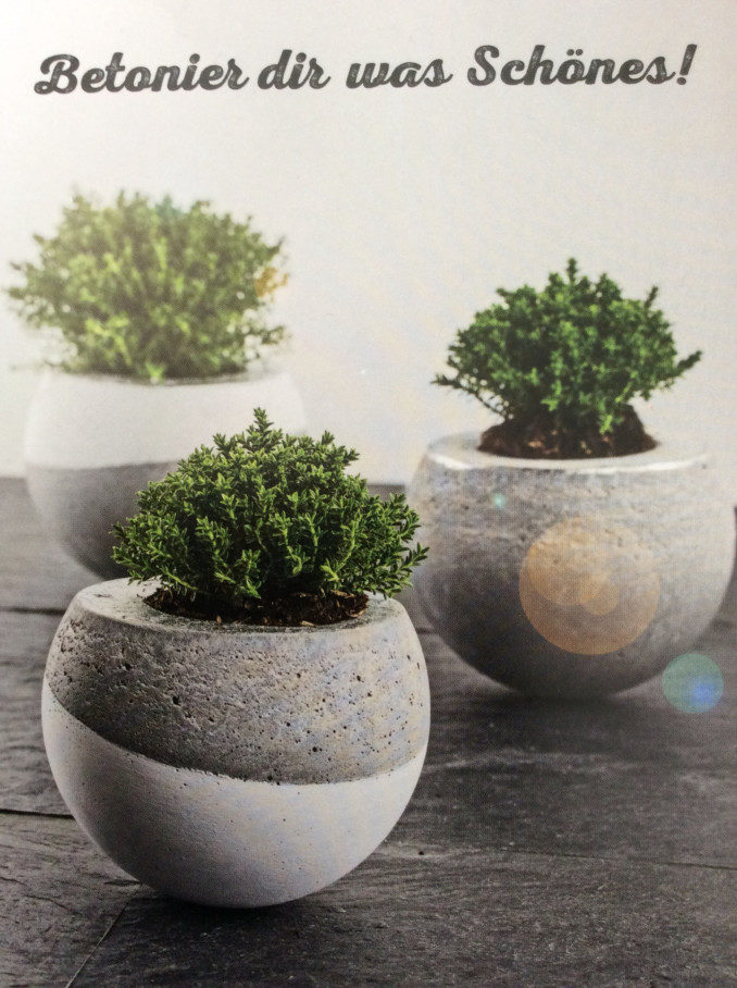 Cement molds for planters remodelaholic diy cement - Como hacer macetas ...