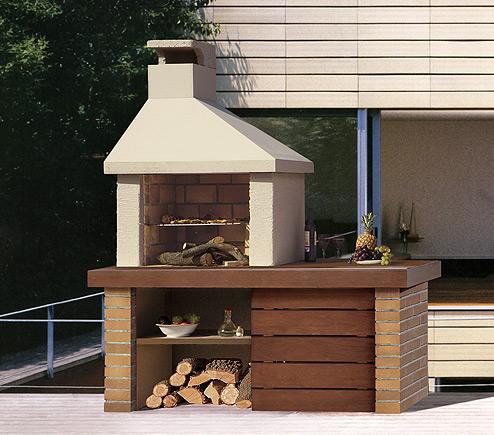 C mo construir una barbacoa instalar una parrilla en el - Barbacoas para jardin ...