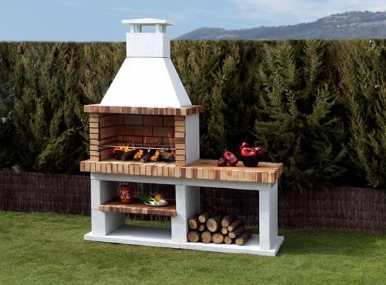 C mo construir una barbacoa instalar una parrilla en el for Barbacoas de jardin baratas