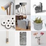 Objetos y accesorios decorativos con cemento: cómo crearlos
