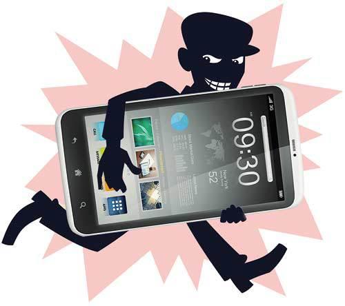 Smartphone-robado