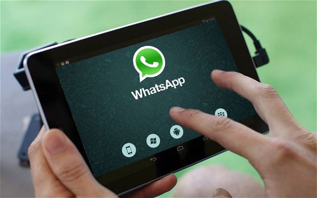 WhatsApp-tablet